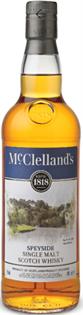 Mcclelland's Scotch Single Malt Speyside 750ml